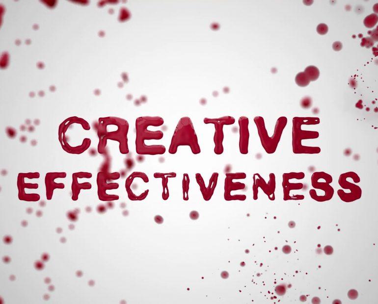 creative effectiveness